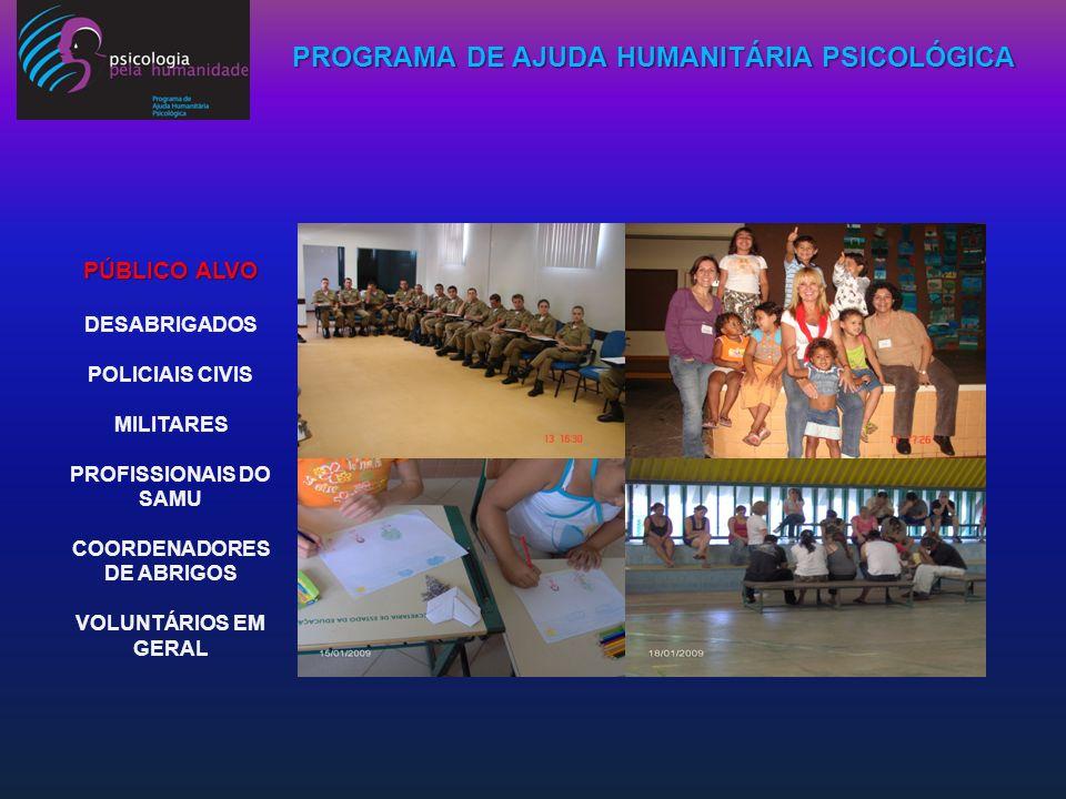 Coordenadores de Abrigos