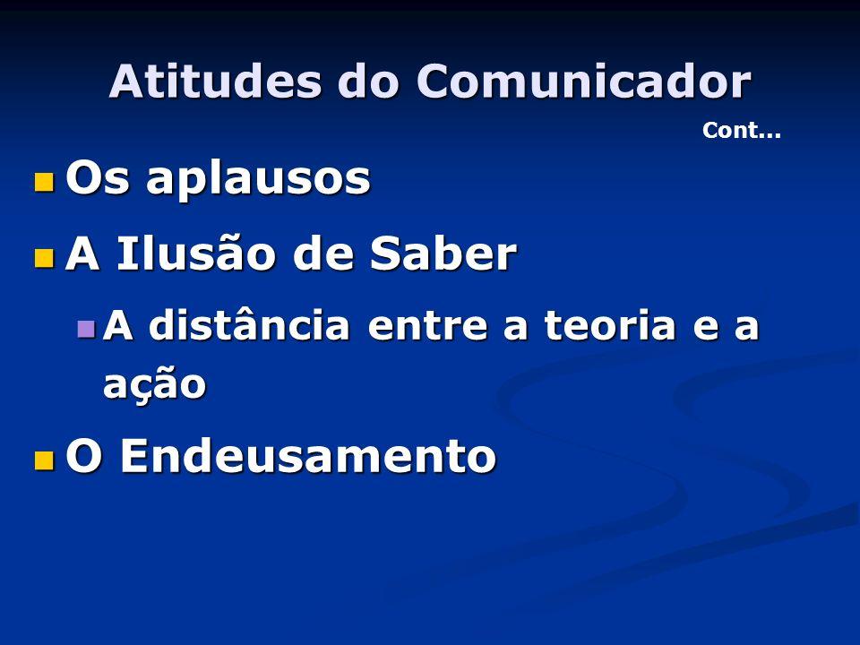 Atitudes do Comunicador