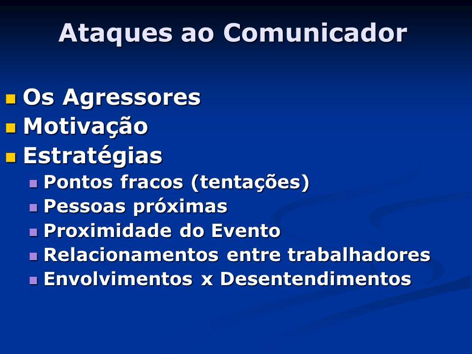 Ataques ao Comunicador
