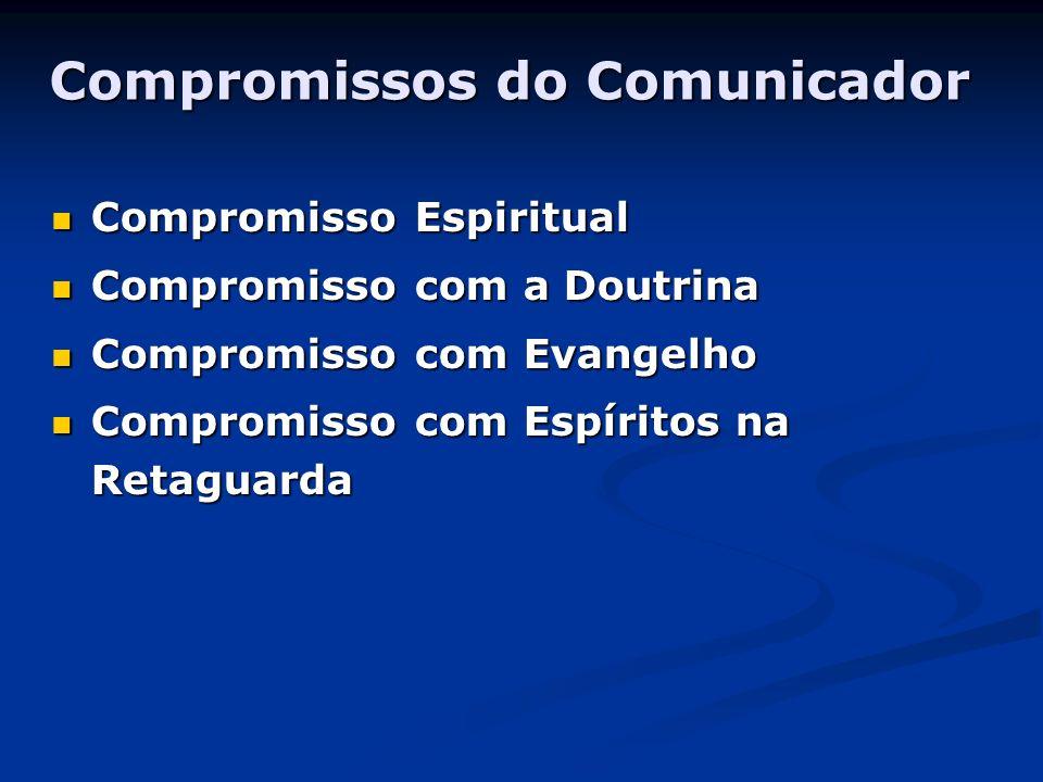 Compromissos do Comunicador