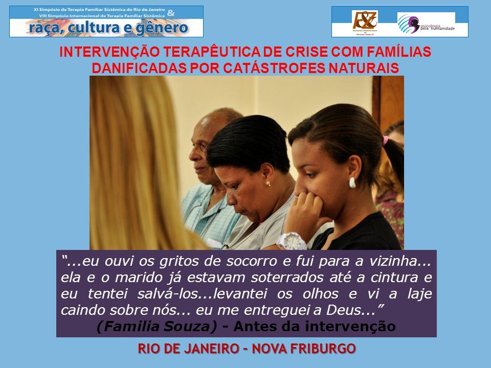 (Familia Souza) - Antes da intervenção Rio de janeiro – Nova friburgo