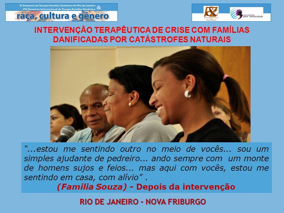 (Familia Souza) - Depois da intervenção Rio de janeiro – Nova friburgo