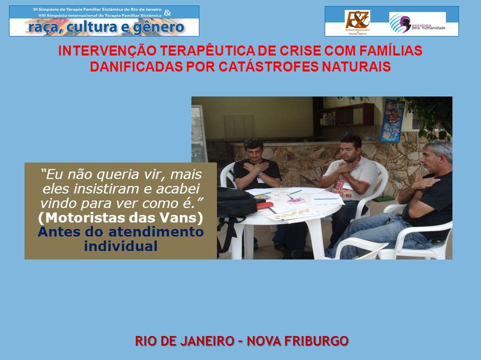 Antes do atendimento individual Rio de janeiro – Nova friburgo