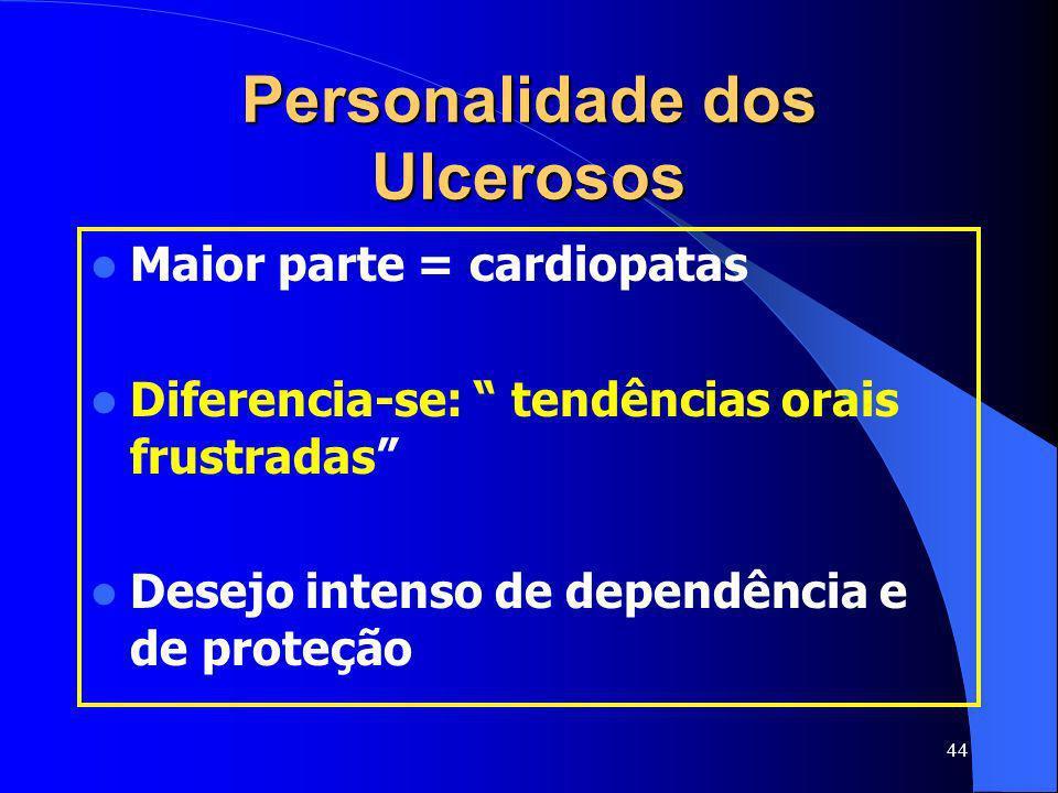Personalidade dos Ulcerosos