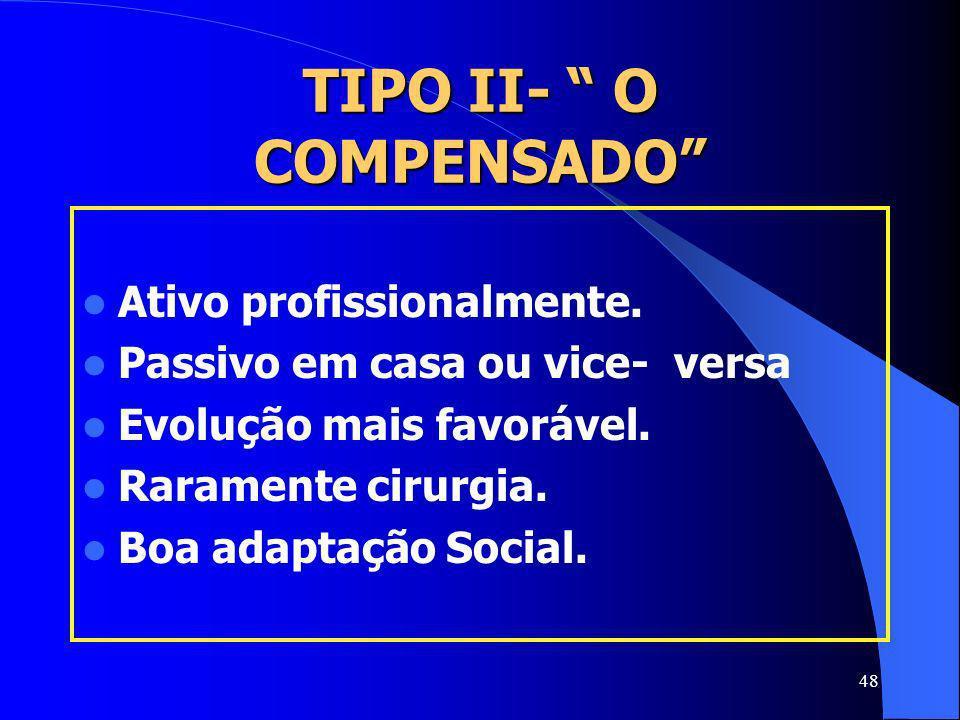TIPO II- O COMPENSADO