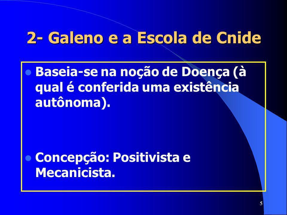 2- Galeno e a Escola de Cnide