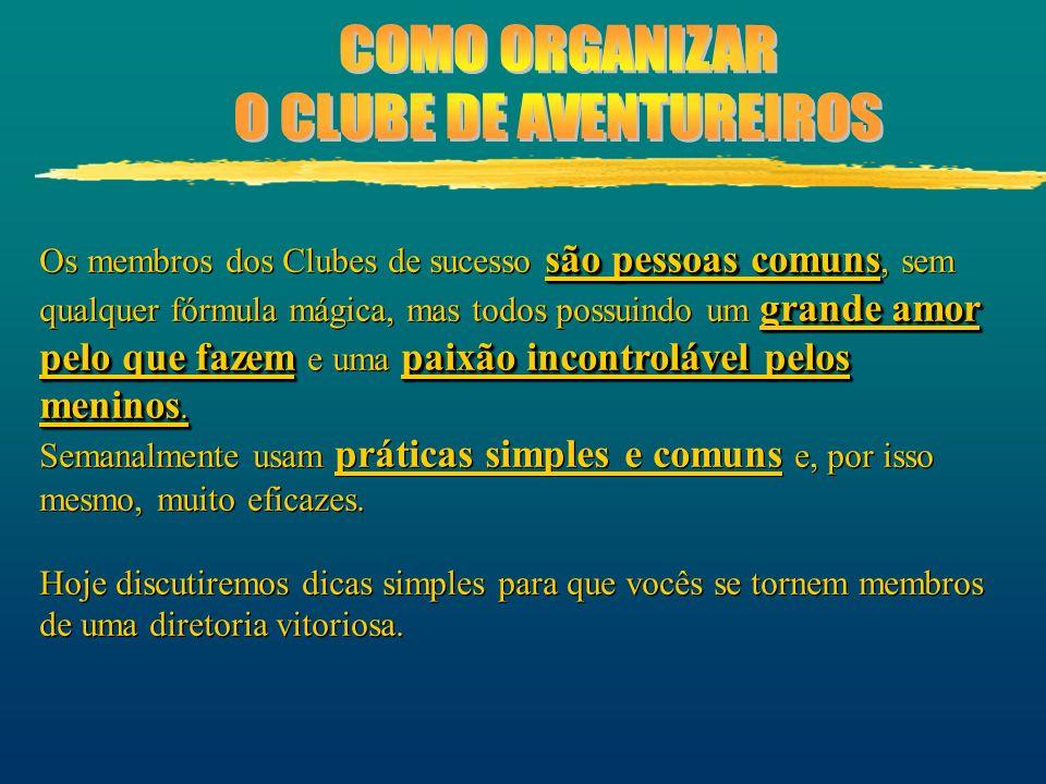 O CLUBE DE AVENTUREIROS