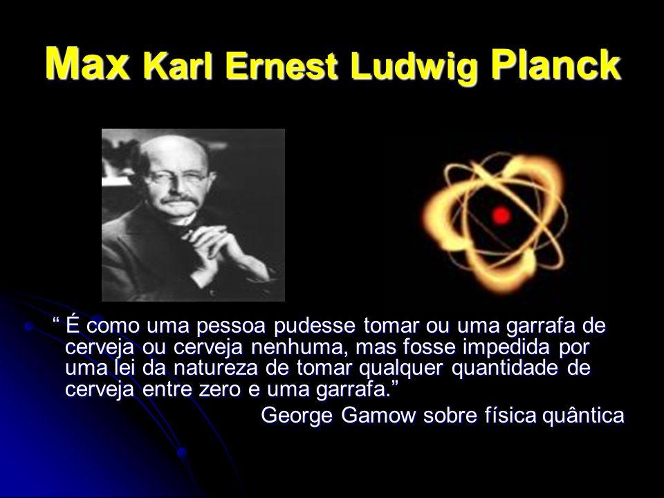 Max Karl Ernest Ludwig Planck