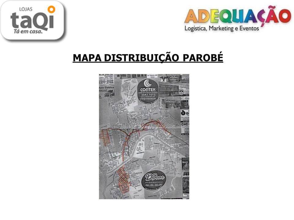 MAPA DISTRIBUIÇÃO PAROBÉ
