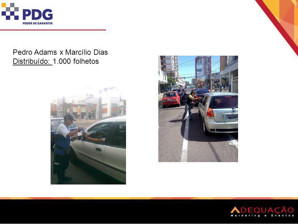 Pedro Adams x Marcílio Dias