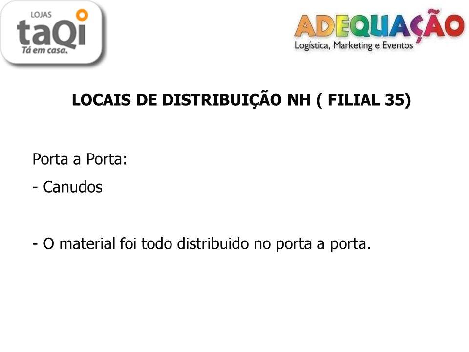 LOCAIS DE DISTRIBUIÇÃO NH ( FILIAL 35)