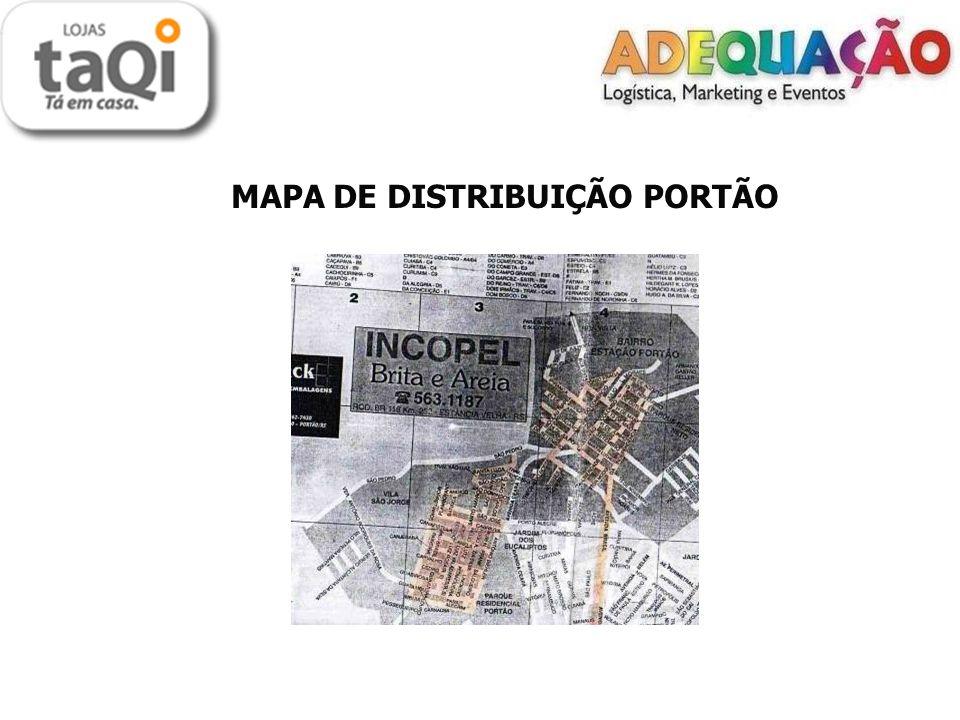 MAPA DE DISTRIBUIÇÃO PORTÃO