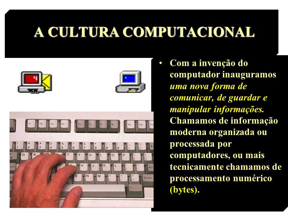 A CULTURA COMPUTACIONAL