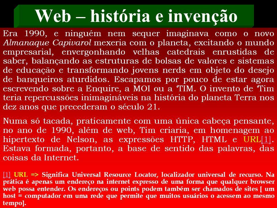 Web – história e invenção