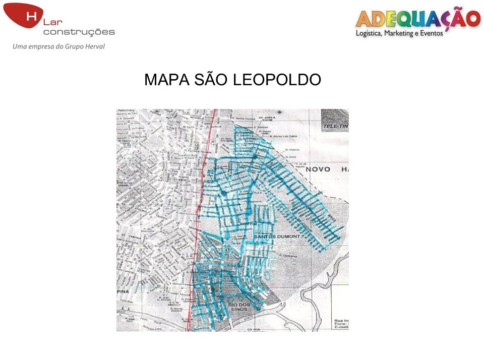 MAPA SÃO LEOPOLDO