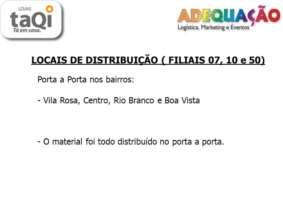 Porta a Porta nos bairros: Vila Rosa, Centro, Rio Branco e Boa Vista