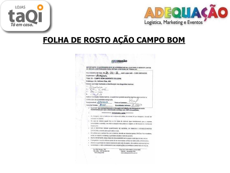 FOLHA DE ROSTO AÇÃO CAMPO BOM