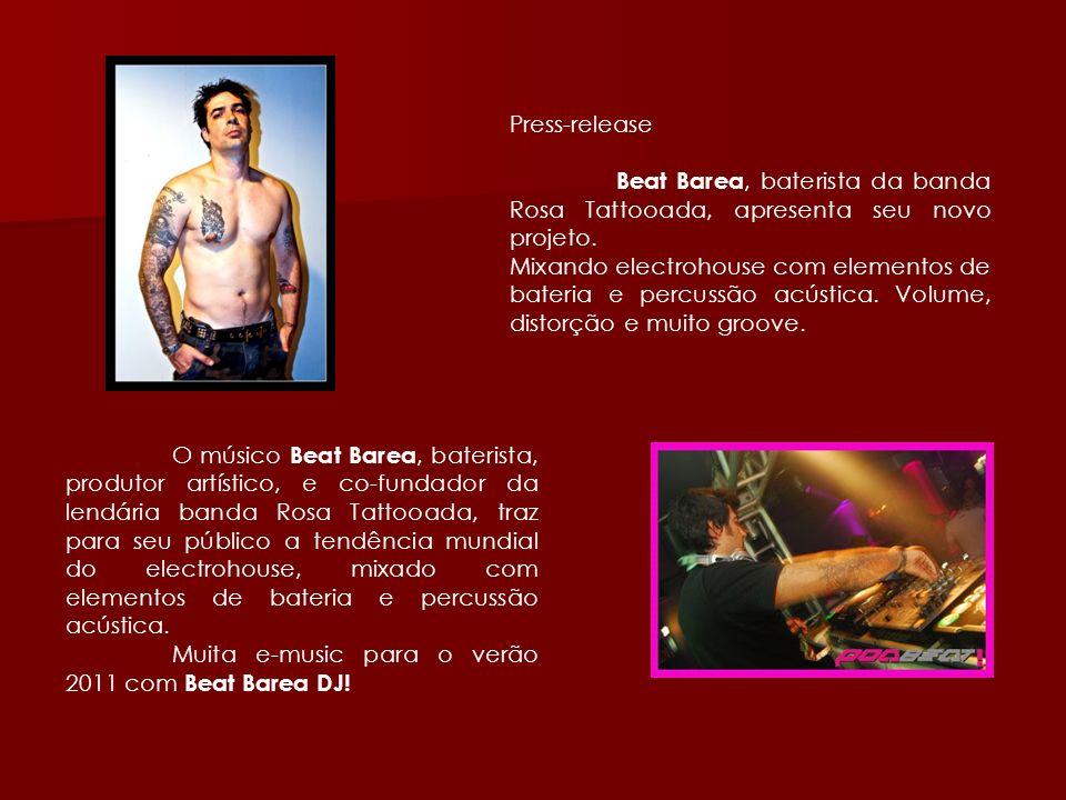 Muita e-music para o verão 2011 com Beat Barea DJ!