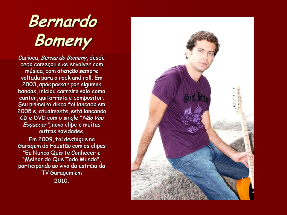 Bernardo Bomeny