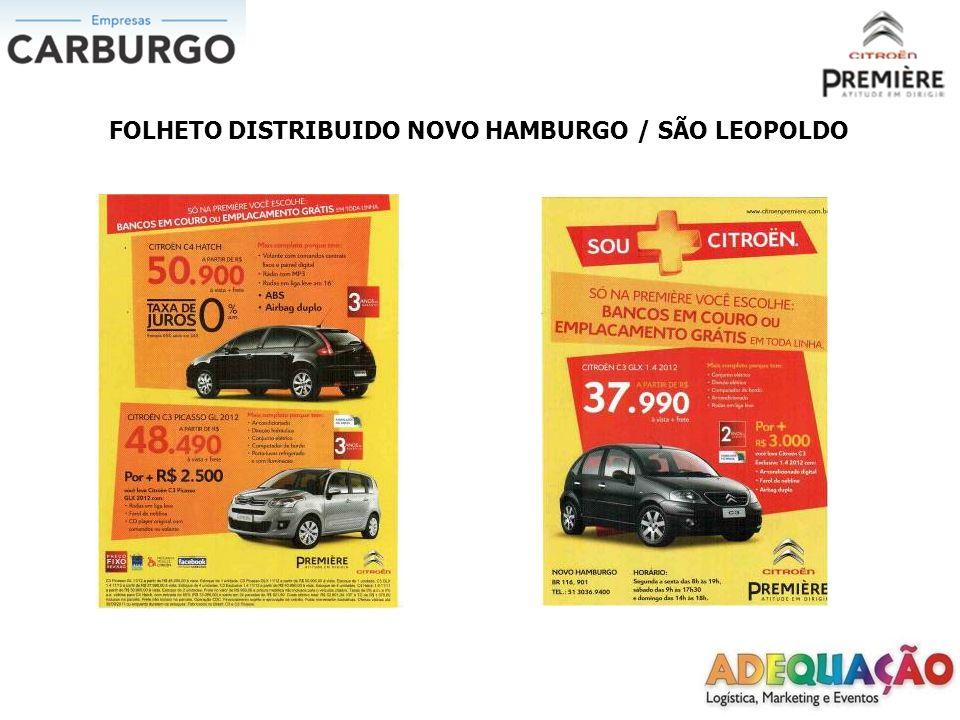 FOLHETO DISTRIBUIDO NOVO HAMBURGO / SÃO LEOPOLDO