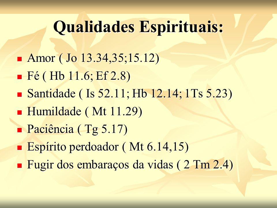 Qualidades Espirituais: