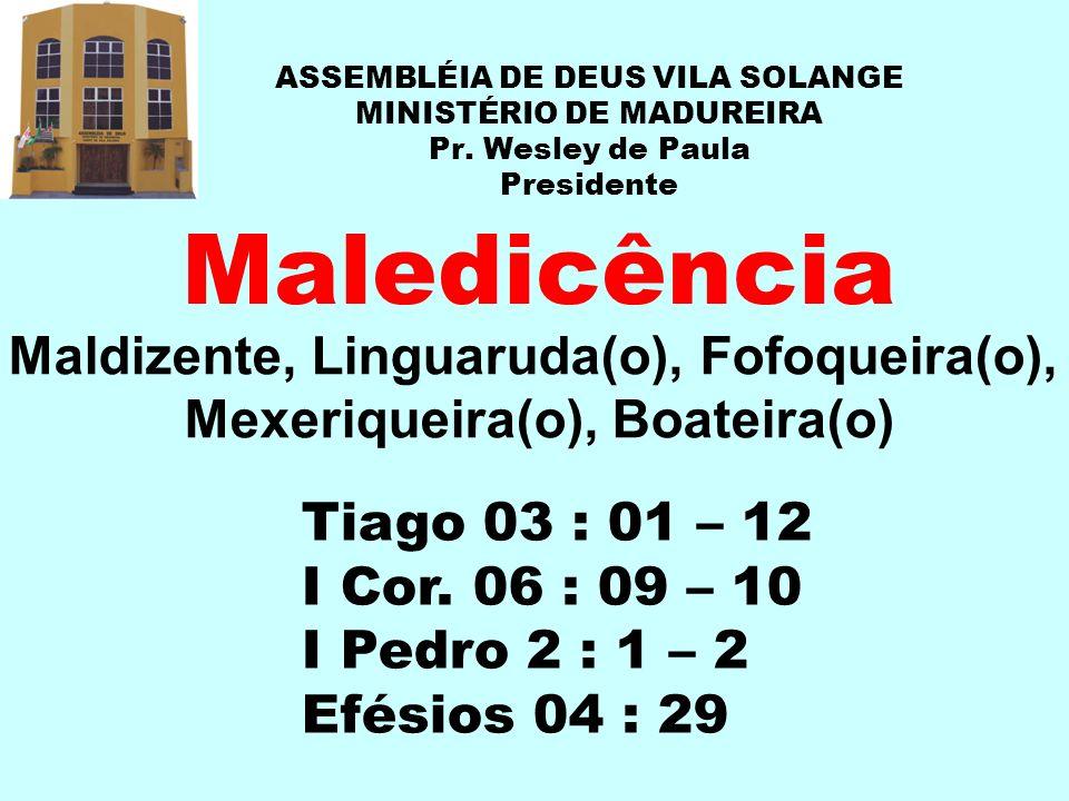 Maldizente, Linguaruda(o), Fofoqueira(o), Mexeriqueira(o), Boateira(o)