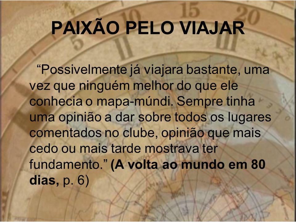 PAIXÃO PELO VIAJAR