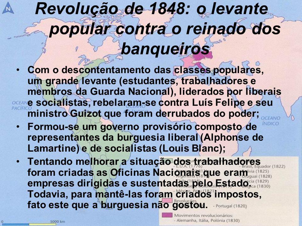 Revolução de 1848: o levante popular contra o reinado dos banqueiros