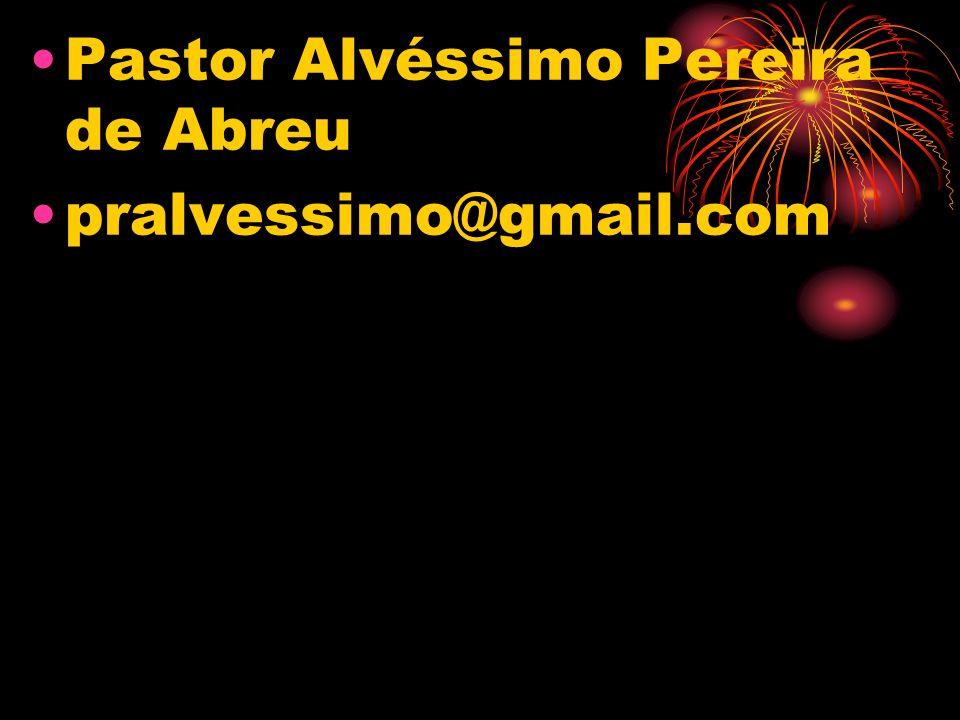 Pastor Alvéssimo Pereira de Abreu