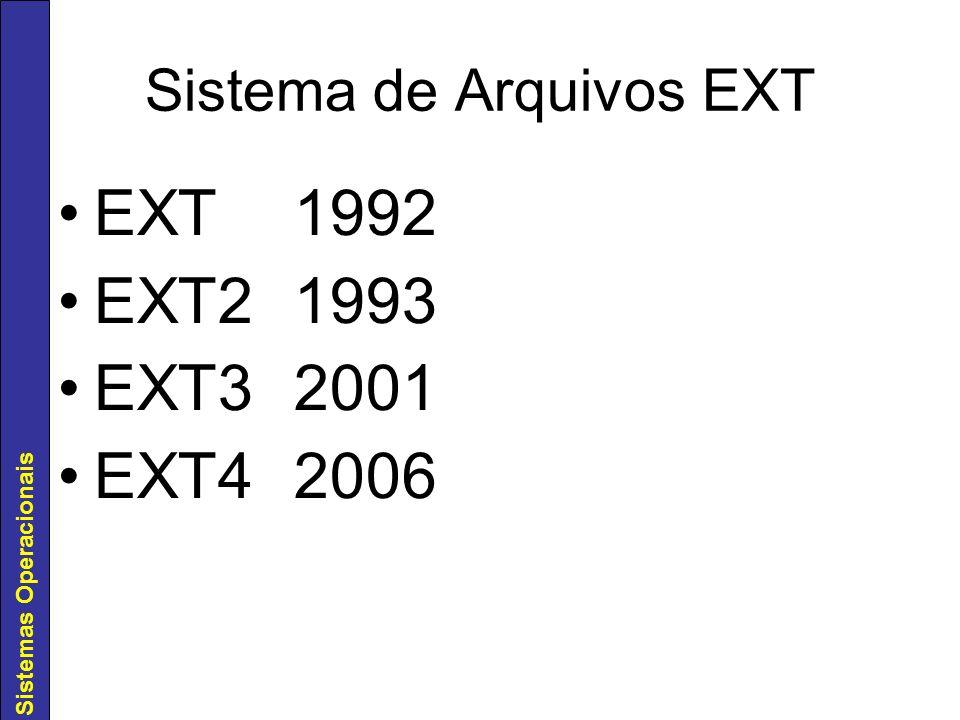 Sistema de Arquivos EXT