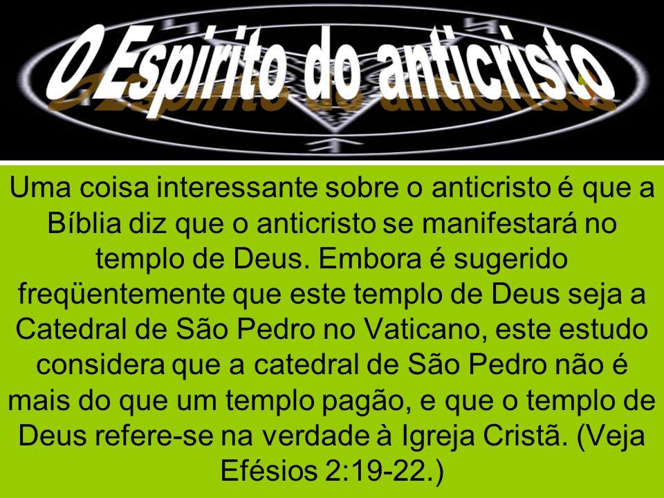 O Espirito do anticristo O Espírito do Anticristo
