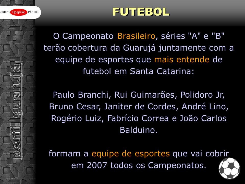 perfil guarujá FUTEBOL