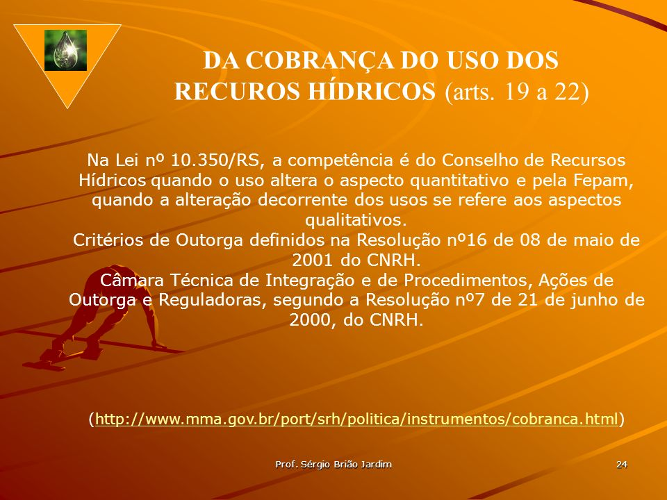 RECUROS HÍDRICOS (arts. 19 a 22)