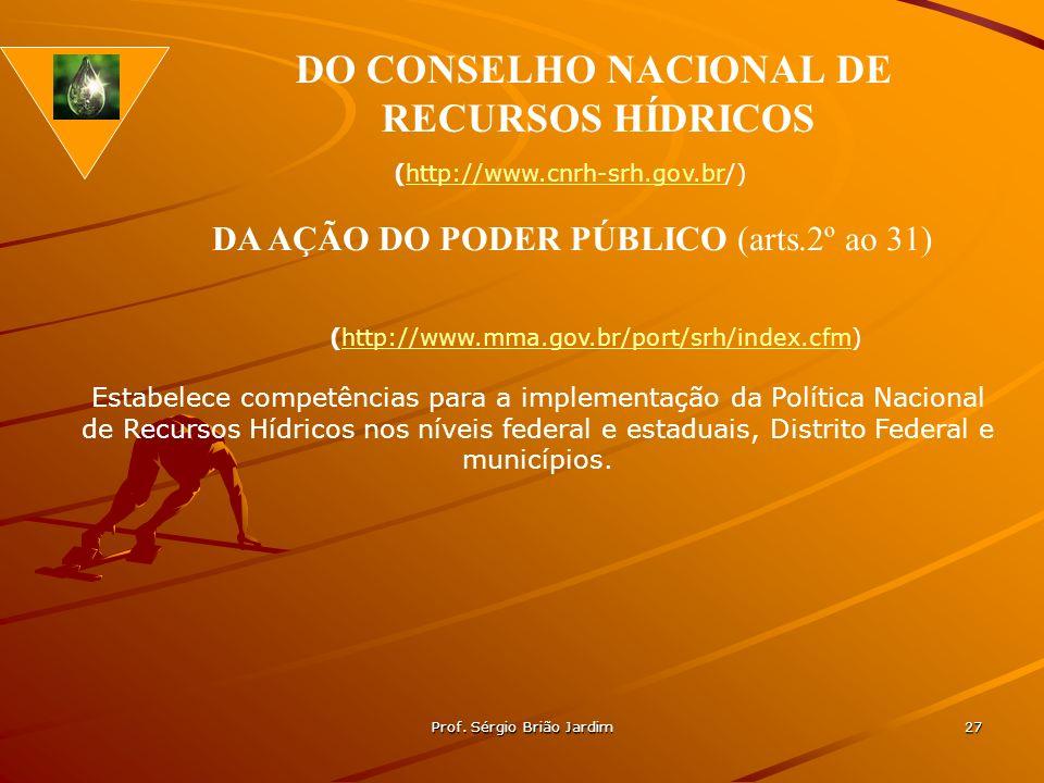 DO CONSELHO NACIONAL DE