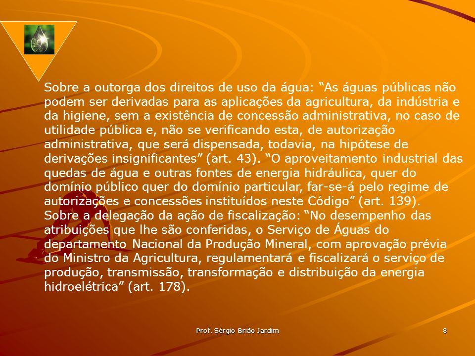 Prof. Sérgio Brião Jardim