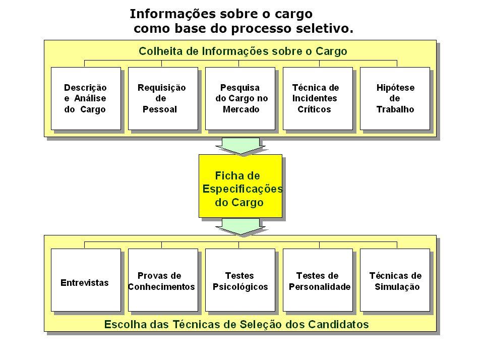 Informações sobre o cargo