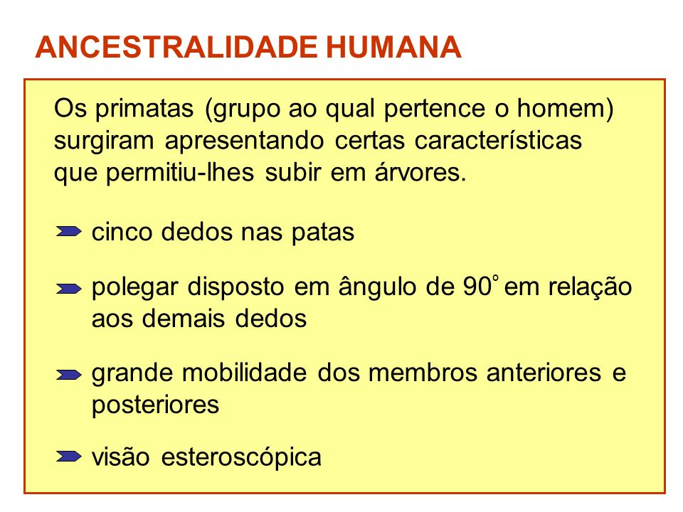 ANCESTRALIDADE HUMANA