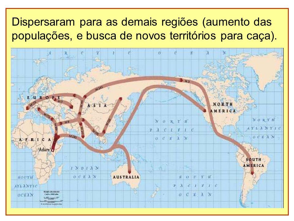 Dispersaram para as demais regiões (aumento das