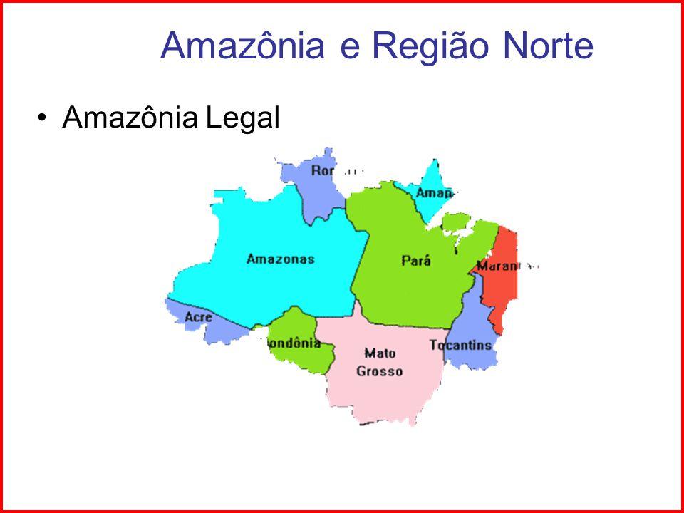 Amazônia e Região Norte