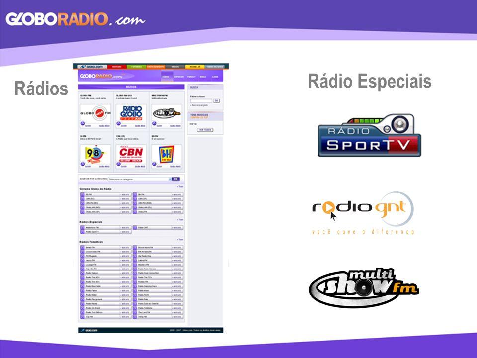Rádio Especiais Rádios