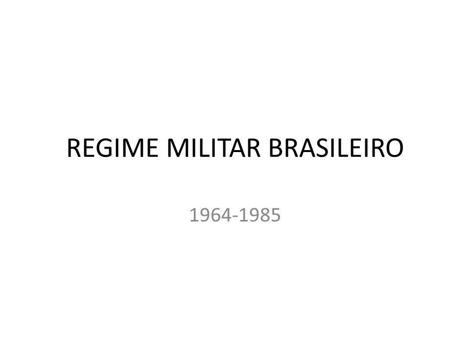 REGIME MILITAR BRASILEIRO
