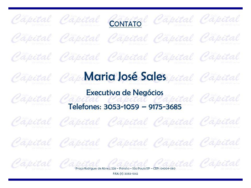 Maria José Sales CONTATO Executiva de Negócios