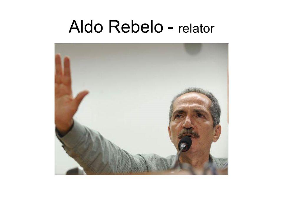 Aldo Rebelo - relator