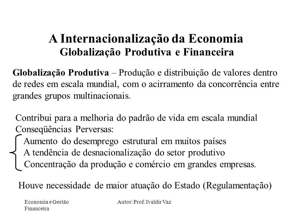 Autor: Prof. Ivaldir Vaz