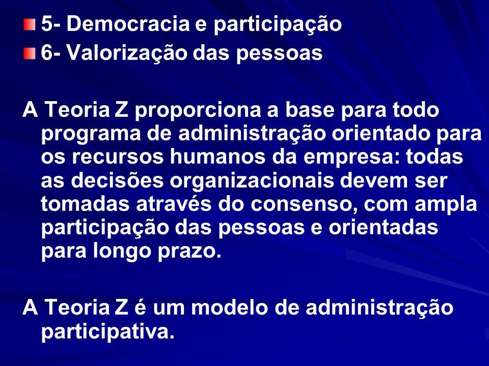 5- Democracia e participação