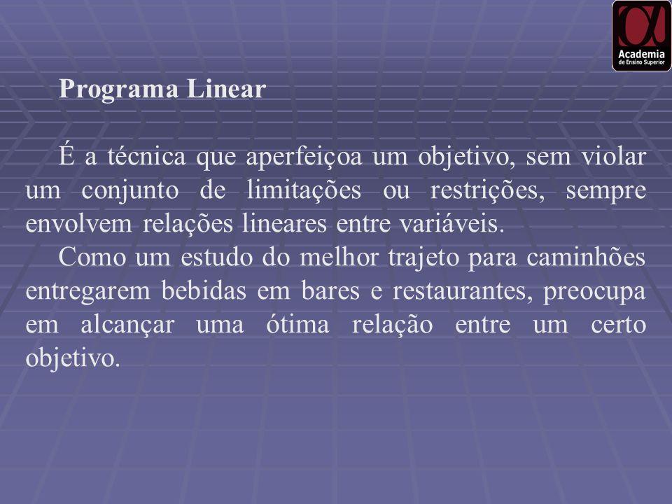 Programa Linear