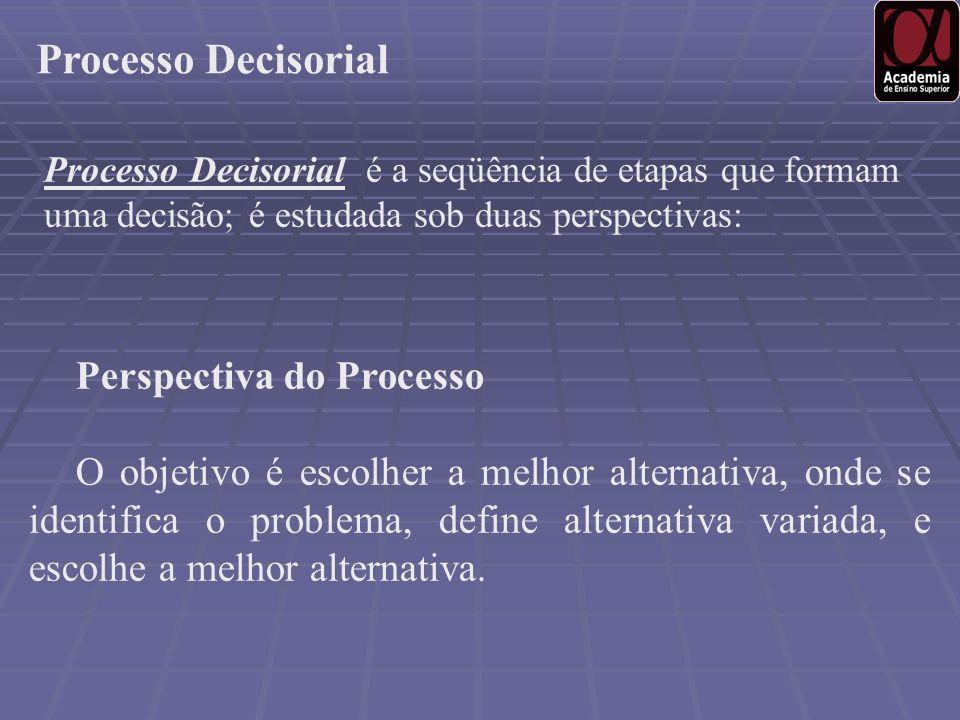 Processo Decisorial Perspectiva do Processo