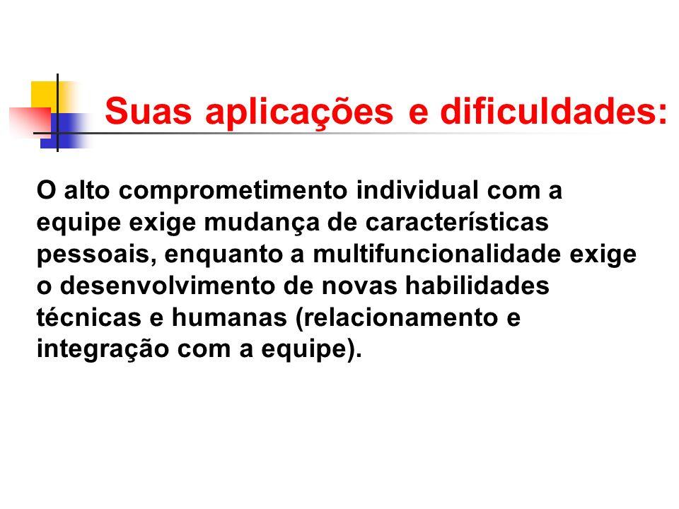 Suas aplicações e dificuldades: