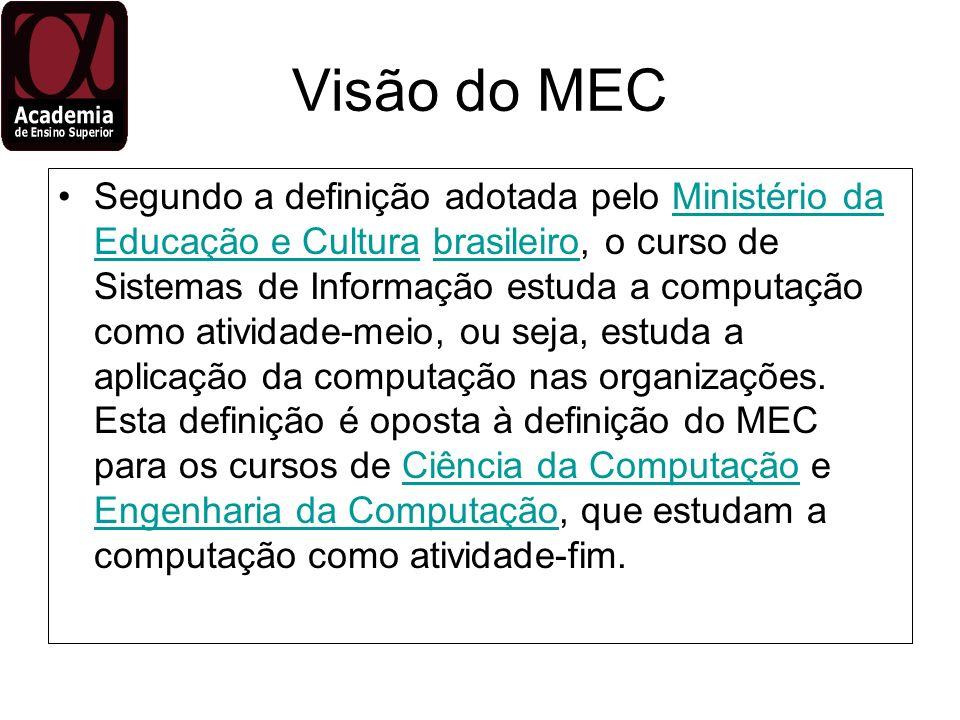Visão do MEC