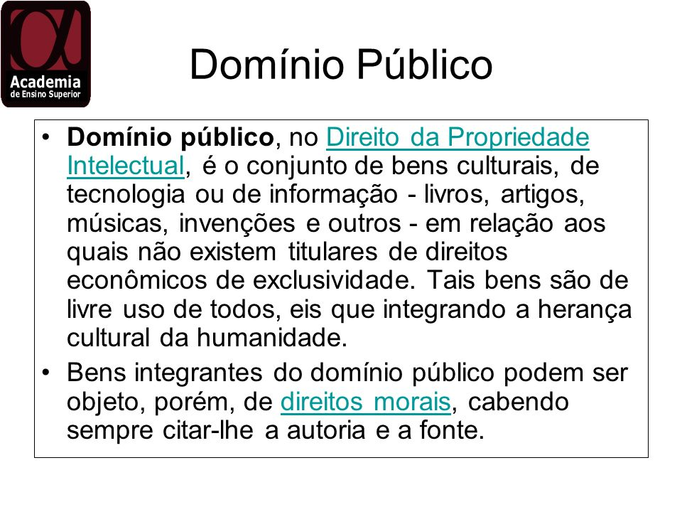 Domínio Público